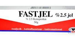 fastjel ağrı kesici ve ödem giderici merhem